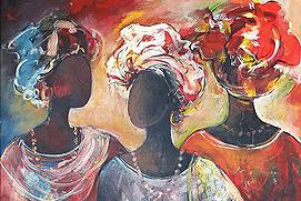 Mabeye NDIAYE 3 femmes vignette