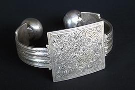 Bracelet de cheville chevilliere anklet maure mauritanie mauritania khal khal khalakahl vignette