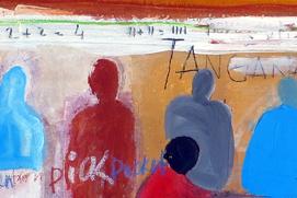 Saadio Les Murs qui Parlent Sénégal Artiste Peintre vignette