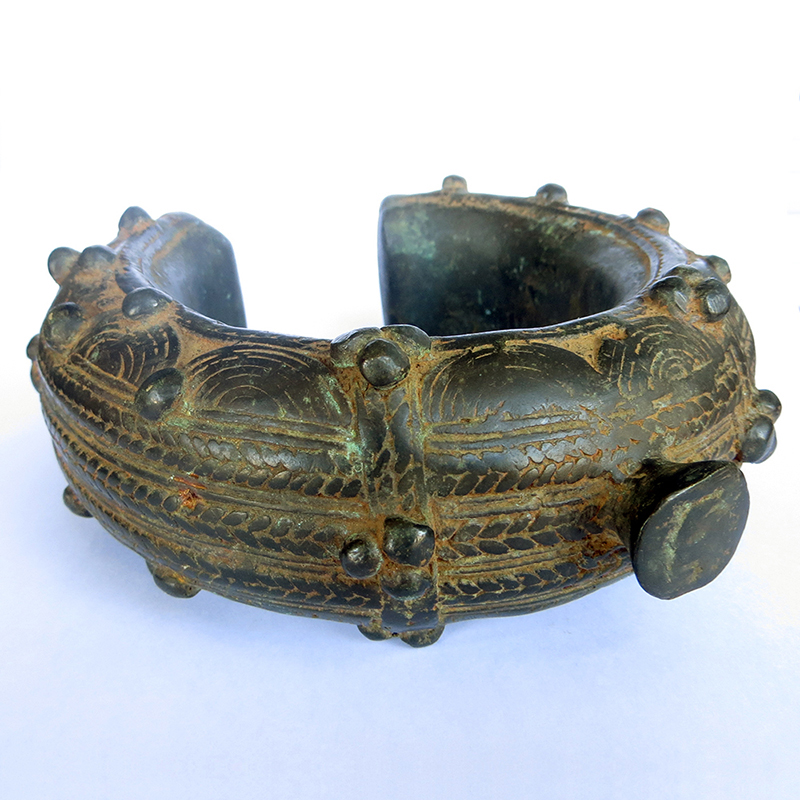 Bracelet Dogon Mali bronze 2