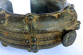 Bracelet Dogon Mali bronze vignette