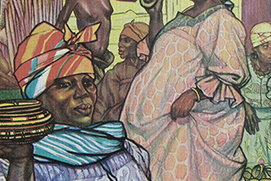 White Africans and Black Singer Baldridge Vignette